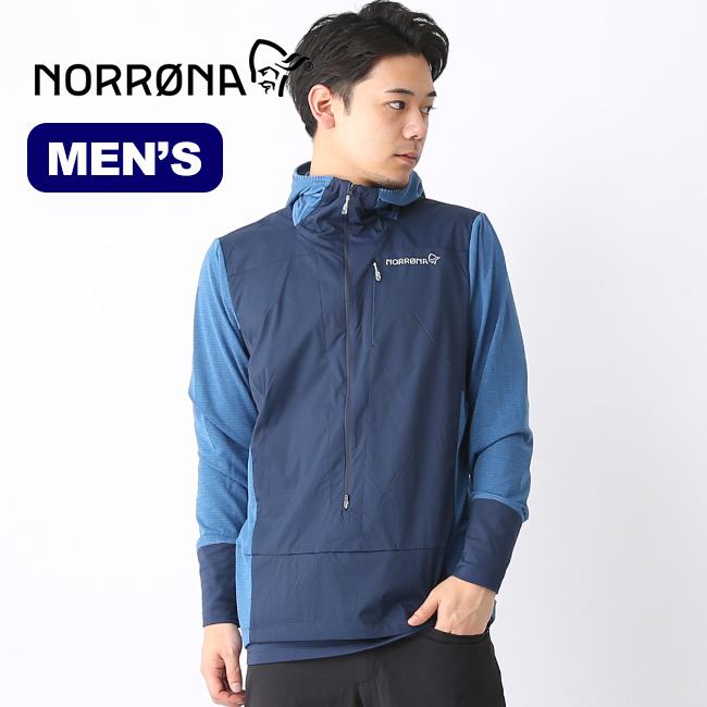 ノローナ ビィティフォーン アルファフーディシャツ メンズ Norrona bitihorn Alpha Hoodie Shirt (M) トップス 2608-19 アウトドア 春夏