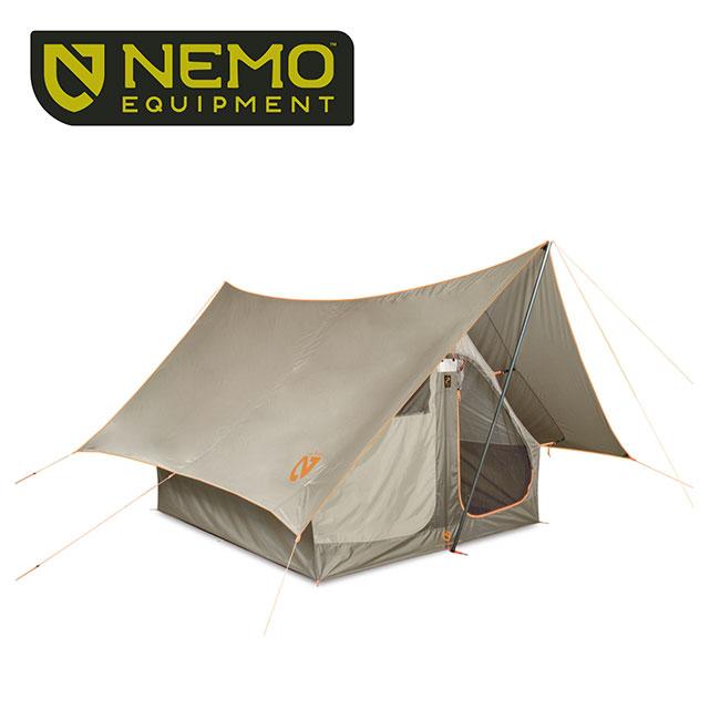 ニーモ ダークティンバー 4P NEMO DARK TIMBER シェルター タープ テント 4人用テント NM-DTB-4P-ST <2019 春夏>