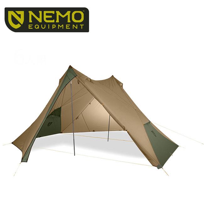 ニーモ ヘキサライト 6P NEMO HEXALITE 6P タープ 大型タープ 6人用 キャンプ用 NM-HEX-6P-CY <2019 春夏>