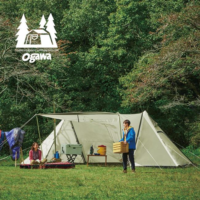 オガワ ツインピルツフォーク T/C ogawa Twin Pilz Fork T/C シェルター テント 2ポールテント ポリエステルコットン 3345 <2019 春夏>