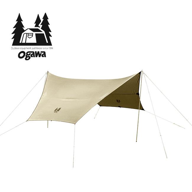 オガワ フィールドタープヘキサDX OGAWA テント タープ ヘキサ型 日除け 雨除け 3333-80 <2019 春夏>