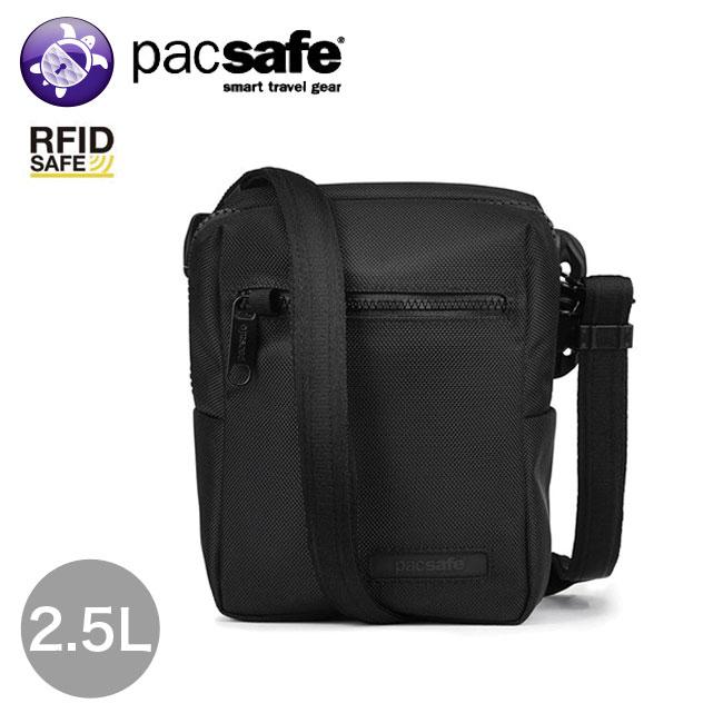 パックセーフ インタセーフ ミニクロスボディ Pacsafe Intasafe mini crossbody ショルダー パスポート カード 安全 RFID<2019 春夏>