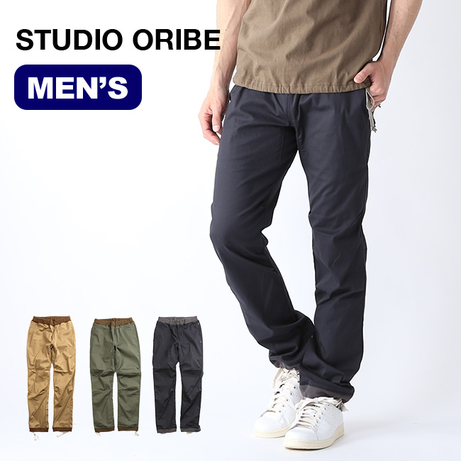 スタジオオリベ リブパンツ STUDIO ORIBE RIB PANTS メンズ ボトムス ロングパンツ RP03 <2019 春夏>