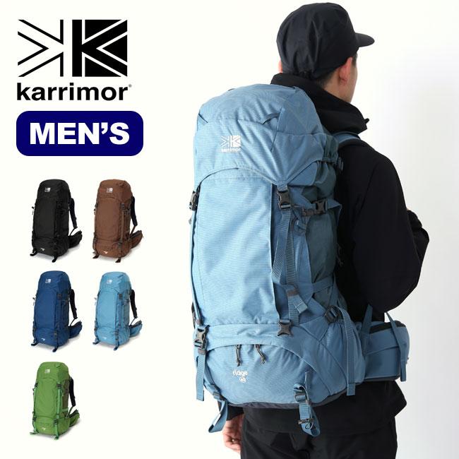 【キャッシュレス 5%還元対象】カリマー リッジ 40 ラージ karrimor ridge 40 large バックパック ザック リュック メンズ <2019 秋冬>