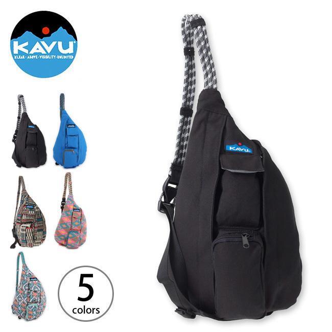 カブー ミニロープバッグ KAVU Mini Rope Bag バッグ デイパック ショルダーバッグ スリングバッグ 19810754 <2019 春夏>