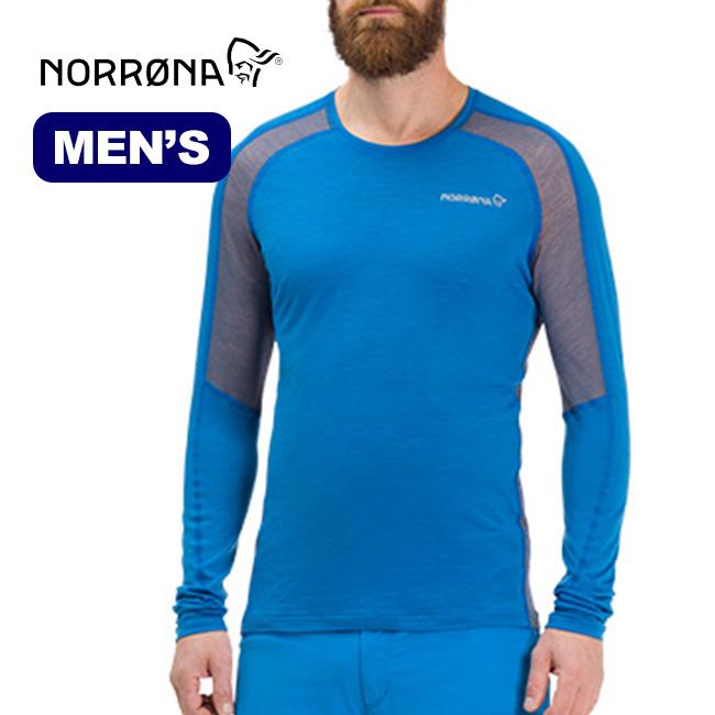 ノローナ ビィティフォーン ウールシャツ メンズ Norrona bitihorn wool Shirt 長袖シャツ カットソー メッシュシャツ 男性
