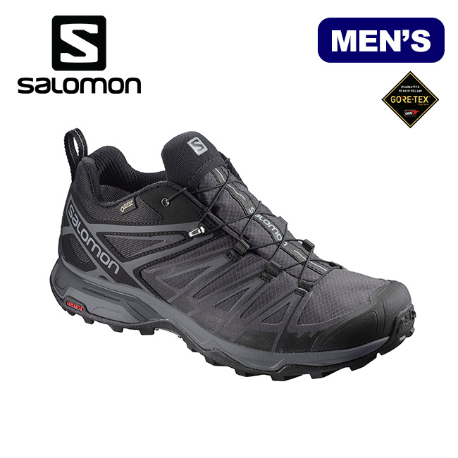 Salomon X ultra 3 wide Gore Tex men SALOMON X ULTRA 3 WIDE GTX shoes sneakers hiking L40659600 <2019 spring and summer>