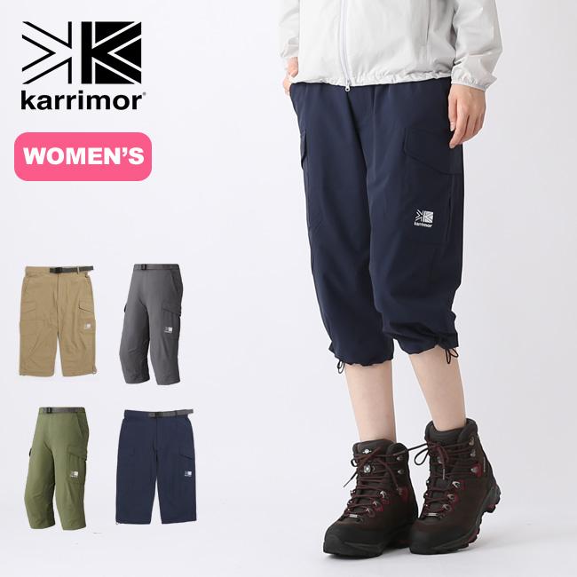 カリマー コンフィ ウィメンズ 3/4 karrimor comfy W's 3/4 パンツ ショートパンツ ハンパ丈 女性 レディース <2019 春夏>