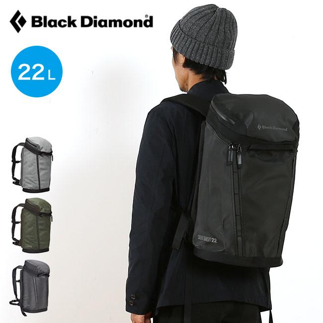 ブラックダイヤモンド クリークトランジット22 黒 Diamond CREEK TRANSIT 22 BD55002 バックパック リュック バッグ デイリーユースパック <2019 秋冬>