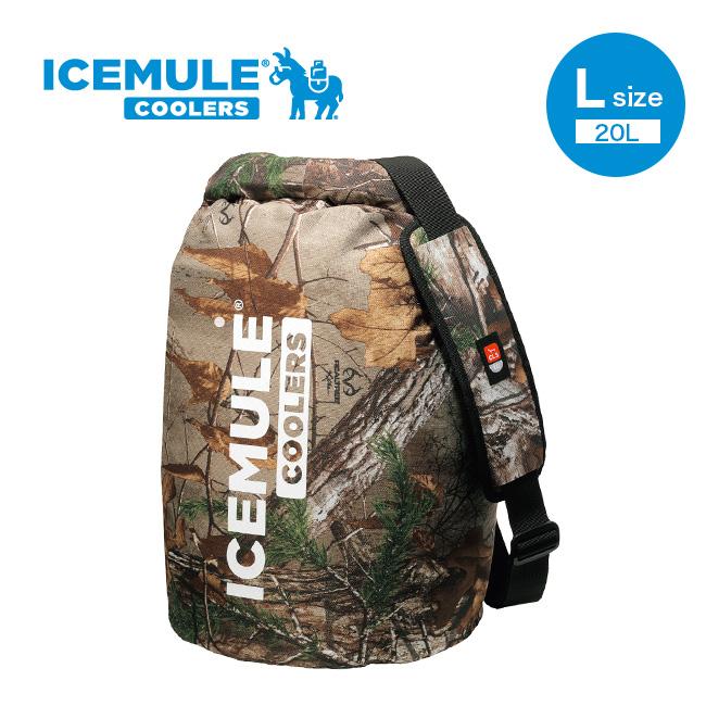 アイスミュール クラシッククーラー L ICEMULE THE ICEMULE CLASSIC™ L クーラーバッグ ショルダー 保冷 20リットル カモ柄 59410 <2019 春夏>