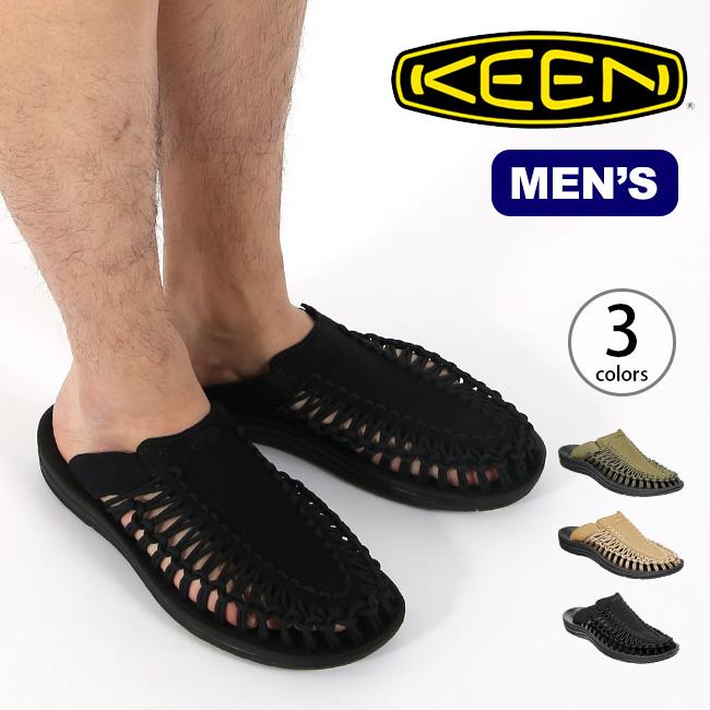 キーン ユニーク スライド KEEN UNEEK SLIDE メンズ サンダル スリッポン 靴 カジュアルサンダル sp19ss
