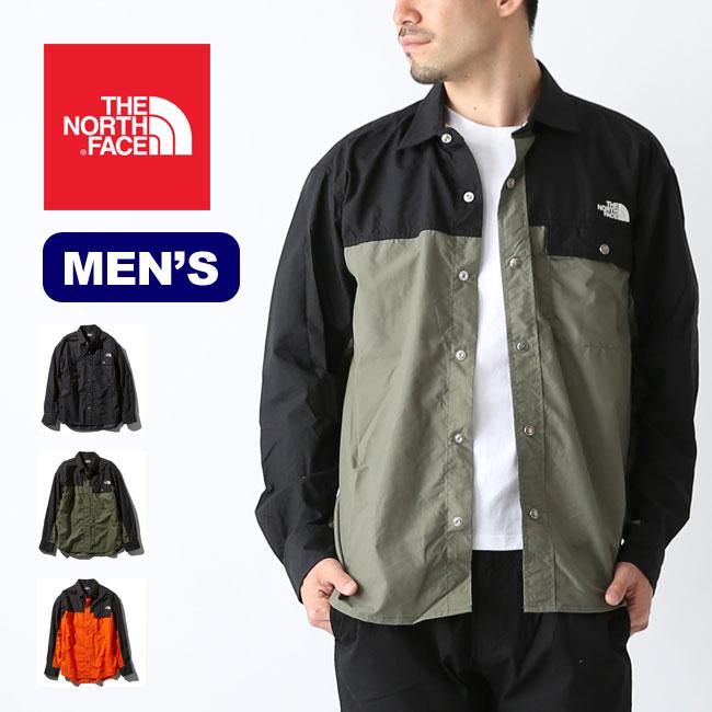 ノースフェイス L/S ヌプシシャツ メンズ THE NORTH FACE L/S Nuptse Shirt NR11961 ジャケット アウター 防水