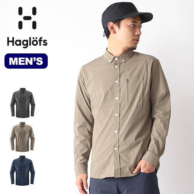 【キャッシュレス 5%還元対象】ホグロフス ブルンLSシャツ HAGLOFS BRUNN LS SHIRT メンズ シャツ ロングシャツ 長袖 ロングスリーブ 604395 <2019 春夏>
