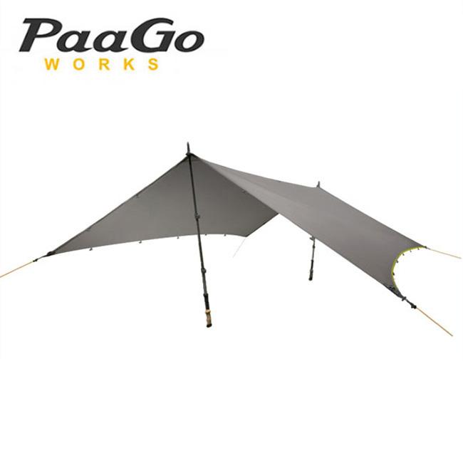 【キャッシュレス 5%還元対象】パーゴワークス ニンジャタープ Paago WORKS NINJA TARP CT801 タープ マルチタープ 簡易テント ソロキャンプ <2019 秋冬>
