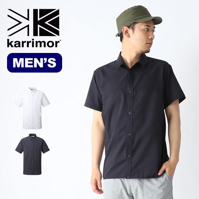 【キャッシュレス 5%還元対象】カリマー DTA S/Sシャツ karrimor DTA S/S shirts シャツ 半袖シャツ メンズ 男性 <2019 春夏>