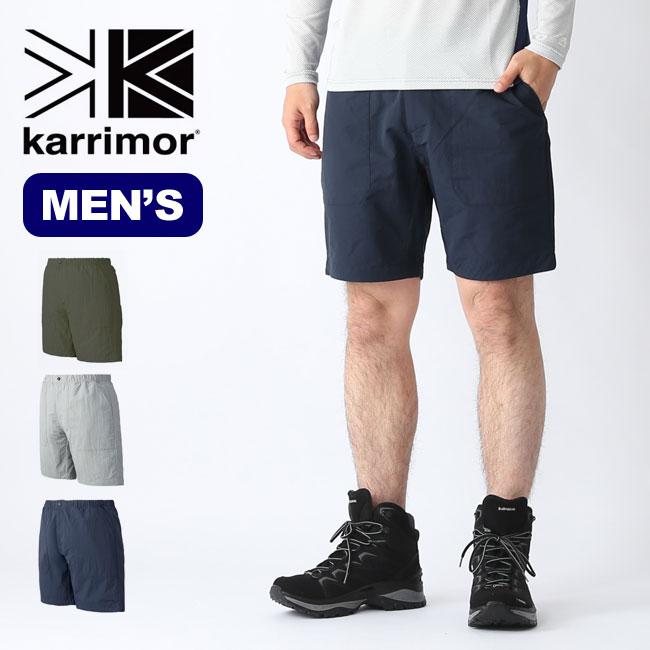 【キャッシュレス 5%還元対象】カリマー トライトンライトショーツ karrimor triton light shorts メンズ ショーツ ショートパンツ 短パン ボトムス <2019 春夏>