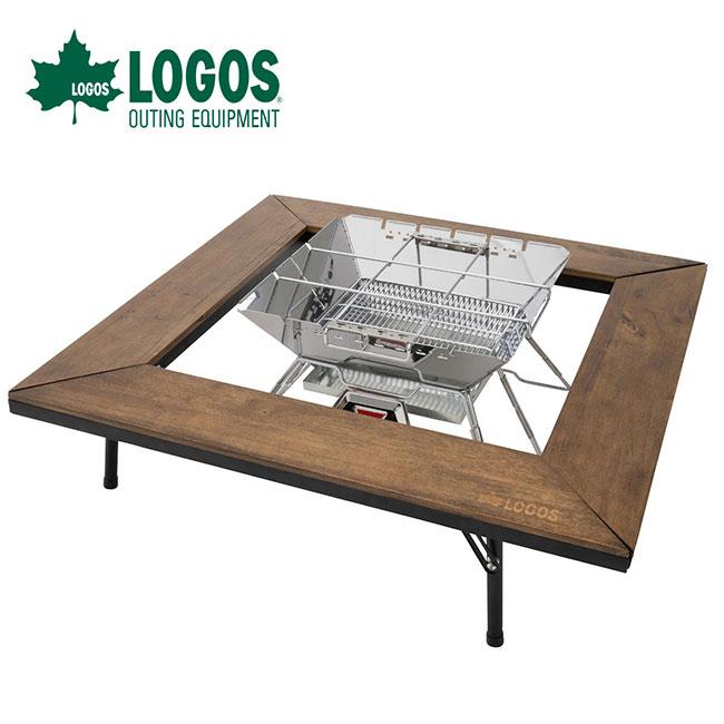 ロゴス アイアンウッド囲炉裏テーブル LOGOS折りたたみテーブル 81064133 <2019 春夏>