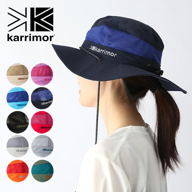 【キャッシュレス 5%還元対象】karrimor カリマー コードメッシュハット ST karrimor cord mesh hat ST ハット 帽子 メッシュハット 撥水性 キャンプ <2019 春夏>