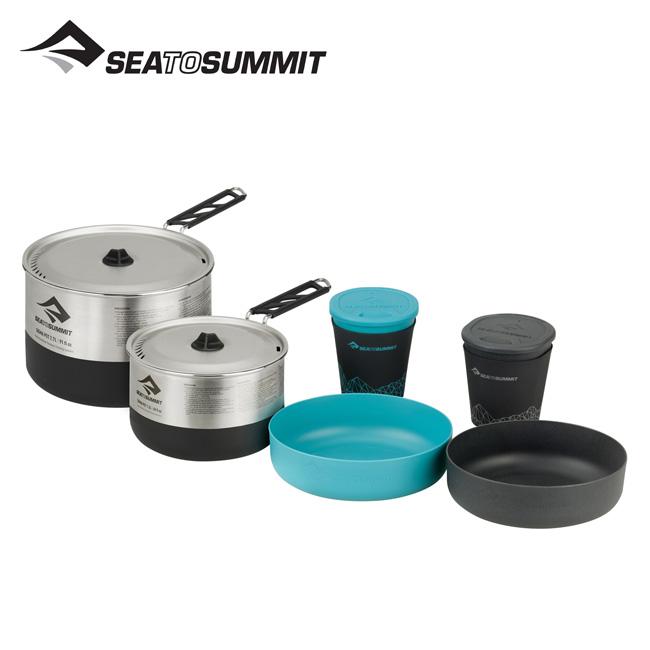 シートゥサミット シグマクックセット 2.2 SEA TO SUMMIT SIGMA COOK SET 2.2 クックウェア 鍋 調理器具 キャンプ アウトドア ST84596 <2019 春夏>