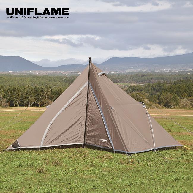 【キャッシュレス 5%還元対象】ユニフレーム REVOルーム4プラス2 UNIFLAME テント ポールテント 連結用 タン キャンプ <2019 春夏>