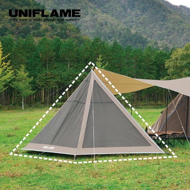 ユニフレーム REVOフラップ2 UNIFLAME フラップ テントアクセサリー テントオプション キャンプ <2019 春夏>