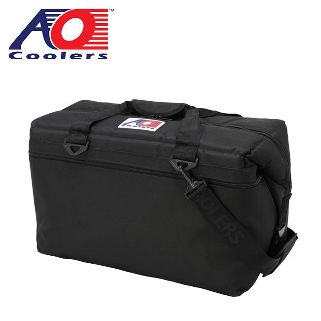 エーオークーラーズ 36パック キャンバスソフトクーラー AO COOLERS 36 Pack Canvas Soft Cooler AO36BK クーラーボックス クーラーバッグ 保冷 キャンプ アウトドア<2020 春夏>