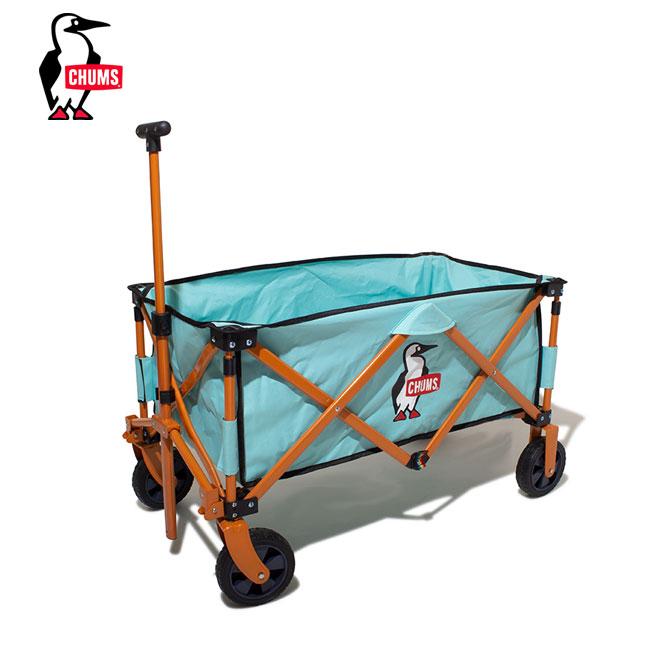 チャムス チャムスハッピーキャンピングフォールディングワゴン CHUMS CHUMS Happy Camping Folding Wagon CH62-1327 ワゴン キャリーワゴン <2019 秋冬>