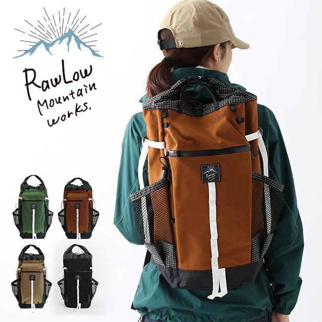【キャッシュレス 5%還元対象】ロウロウマウンテンワークス バンビ RawLow Mountain Works Bambi リュック ザック バックパック アウトドア ハイキング バイク <2019 春夏>