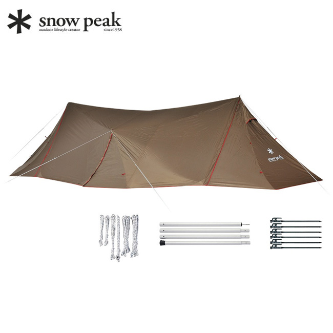 スノーピーク ランドステーションL セット snow peak シェルター アウトドア キャンプ タープ TP-820S 【正規品】