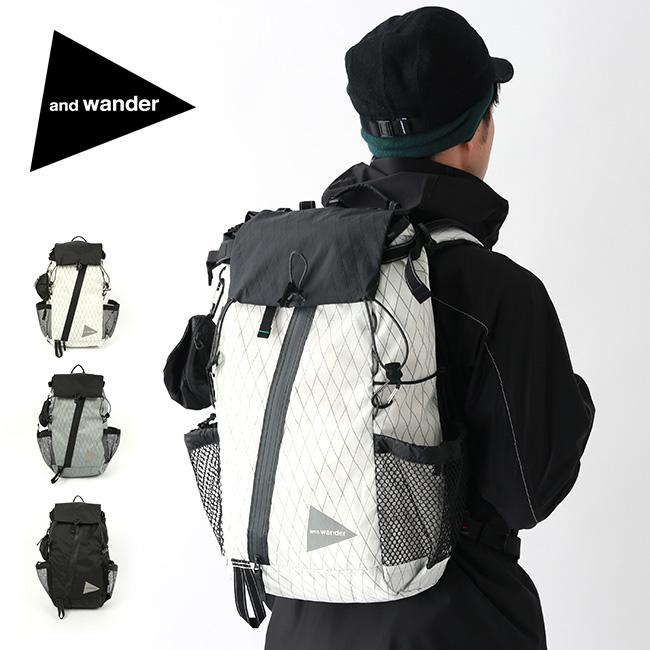 【キャッシュレス 5%還元対象】アンドワンダー Xパック 30L バックパック and wander X-Pac 30L backpack AW-AA651 ザック リュックサック <2019 秋冬>