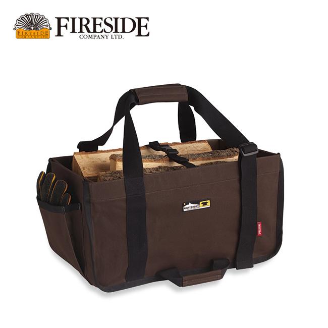 ファイヤーサイド ログキャリー FIRESIDE Fireside Log Carry ログキャリー 薪入れ 薪 バッグ 焚き火 キャンプ アウトドア 27917 <2019 秋冬>