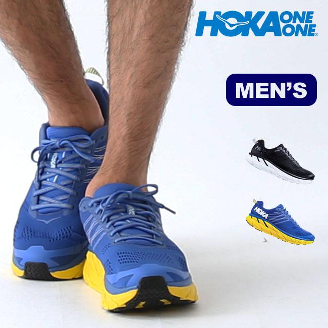 【キャッシュレス 5%還元対象】ホカオネオネ クリフトン6 メンズ HOKA ONE ONE CLIFTON 6 靴 スニーカー トレッキングシューズ 1102872 <2019 秋冬>