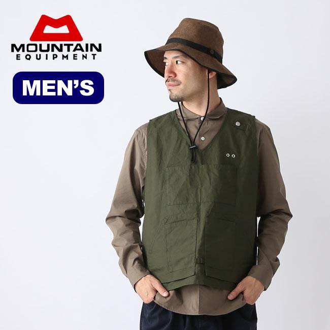 マウンテンイクイップメント ユーティリティーベストMOUNTAIN EQUIPMENT Utility Vest メンズ アウター トップス ベスト アウトドア 春夏