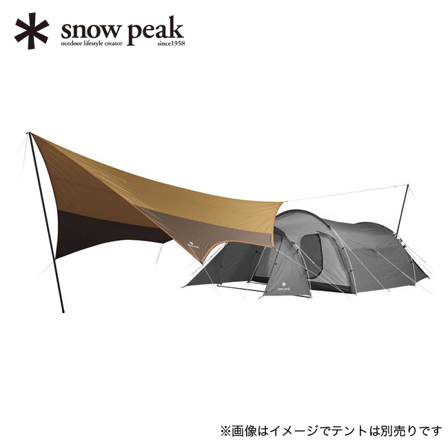 スノーピーク アメニティタープ ヘキサLセット snow peak Amenity Tarp Hexa L Set オガワ張り 小川張り 初心者 エントリーモデル TP-851SR アウトドア 春夏