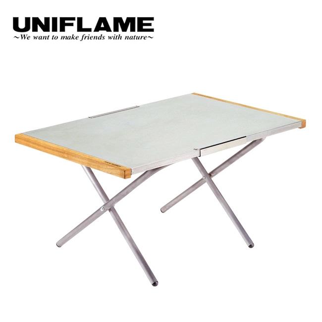 ユニフレーム 焚き火テーブルラージ UNIFLAME テーブル サイドテーブル BBQ テーブル 焚火 折りたたみテーブル <2019 春夏>