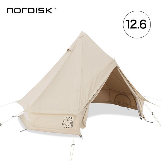 ノルディスク アスガルド 12.6 NORDISK Asgard 12.6 テント コットン 6人用 キャンプ ファミリーアウトドア