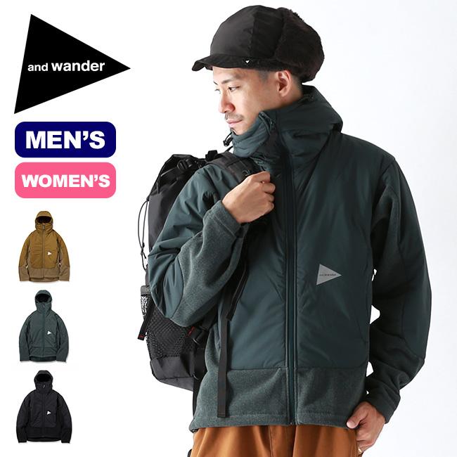 アンドワンダー トップフリースジャケット and wander top fleece jacket メンズ レディース AW93-JT636 ジャケット フリースジャケット パーカ アウター アウトドア <2019 秋冬>