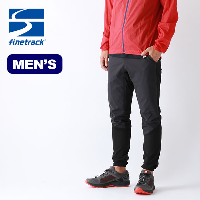 ファイントラック メンズ スカイトレイルパンツ finetrack MEN'S SKY TRAIL PANTS メンズ FAM0711 ランニング 軽量 ストレッチ <2019 秋冬>