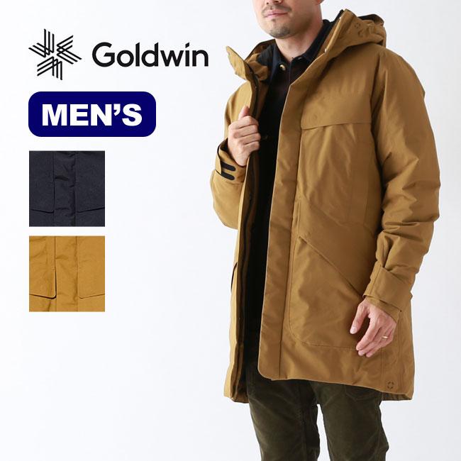 【キャッシュレス 5%還元対象】ゴールドウィン フーデッドシュプールダウンコート GOLDWIN Hooded Spur Down Coat メンズ GL09301P アウター ジャケット トップス コート <2019 秋冬>