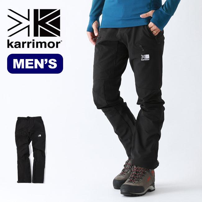 カリマー クエストソフトシェルパンツ karrimor quest softshell pants ズボン 長ズボン パンツ メンズ <2019 秋冬>