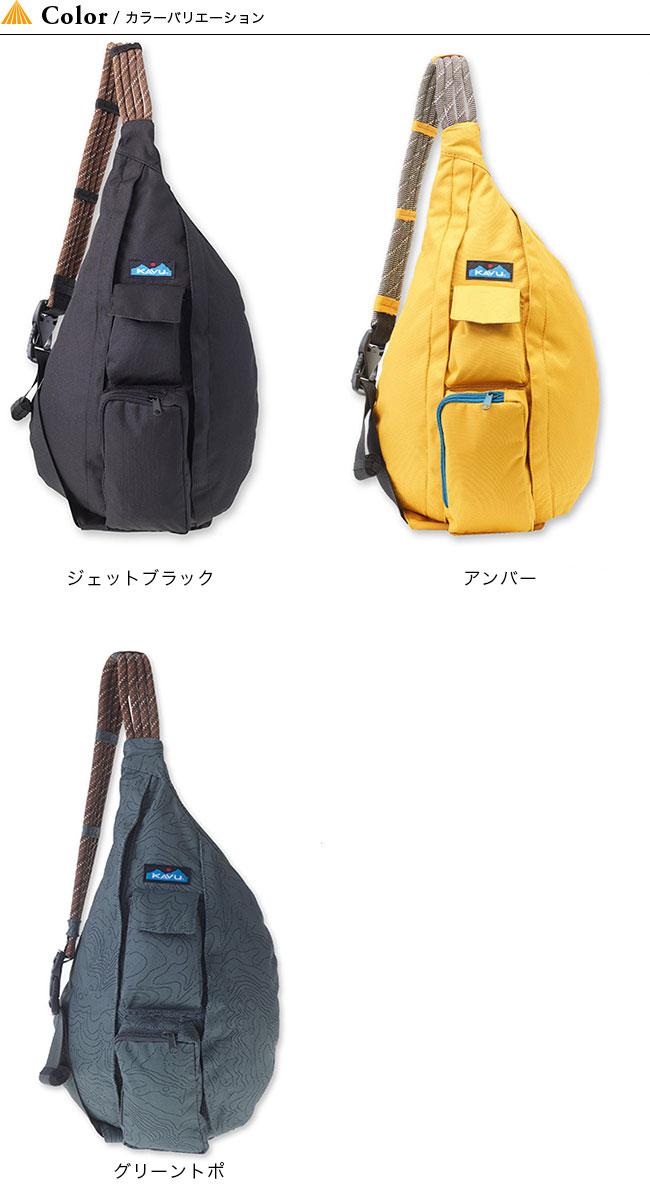 KAVU Rope Sling Bag One Size Tan Topo