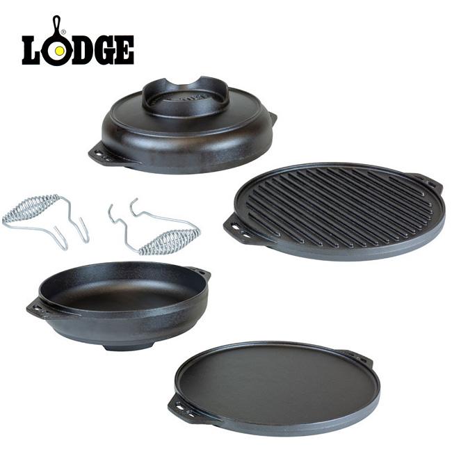 ロッジ クックイットオール 14インチ LODGE Cook-It-All 14Inch L14CIA オーブン アウトドア <2019 秋冬>