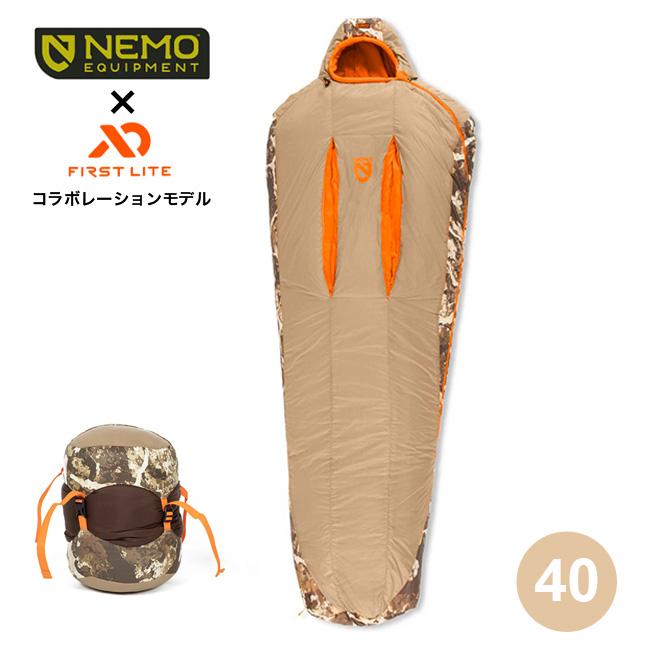 ニーモ スカウト40 NEMO SCOUT™40 NM-SCT-40-F シュラフ 寝袋 寝具 マミー ミイラ コンパクト 軽量アウトドア <2019 秋冬>