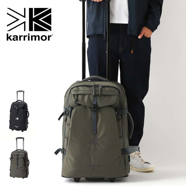 カリマー エアポートプロ40 karrimor airport pro 40 キャリーケース キャリーバッグ リュック バックパック 2way 旅行 海外旅行 トラベル 出張 <2019 秋冬>