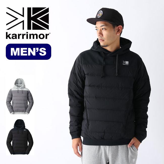 【キャッシュレス 5%還元対象】  カリマー インディーダウンフーディー karrimor indie down hoodie メンズ ジャケット アウター sp19fw