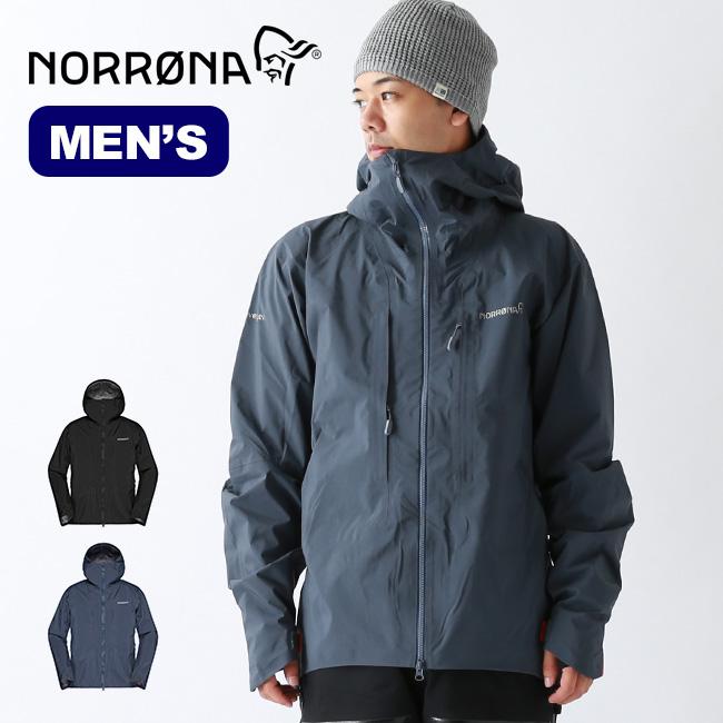 ノローナ トロールヴェゲン ゴアテックスプロライトジャケット Norrona trollveggen Gore-Tex Pro Light Jacket メンズ ジャケット シェルジャケット マウンテンジャケット アウター 1605-19 <2019 秋冬>