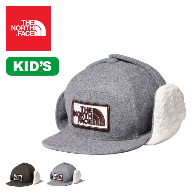 ノースフェイス 【キッズ】ウィンタートラッカーキャップ THE NORTH FACE Kids' Winter Trucker Cap NNJ41900 キャップ トラッカーキャップ 帽子 防寒 耳当てつき 子供 <2019 秋冬>