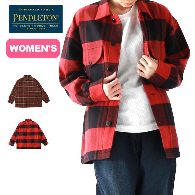 ペンドルトン CPOシャツジャケット【ウィメンズ】 PENDLETON CPO SHIRTS JACKET レディース シャツ ジャケット トップス チェックシャツ アウトドア <2019 秋冬>