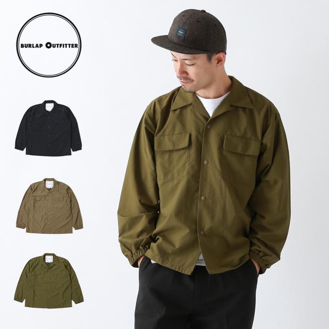 バーラップアウトフィッター L/S キャンプシャツ BURLAP OUTFITTER L/S CAMP SHIRT メンズ 30020 トップス シャル アウトドア <2019 秋冬>