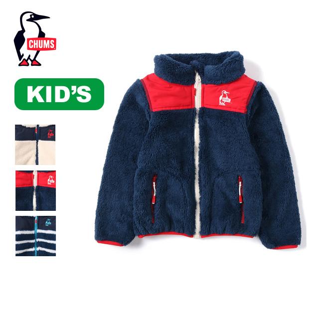 チャムス 【キッズ】フリースエルモジャケット CHUMS Kid's Fleece Elmo Jacket キッズ CH24-1018 子供用 アウター <2019 秋冬>